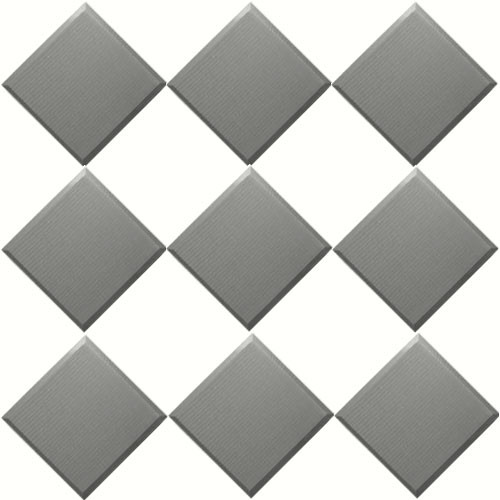 "Primacoustic F122-2424-08 2"" Broadway Control Cubes (Gray)"