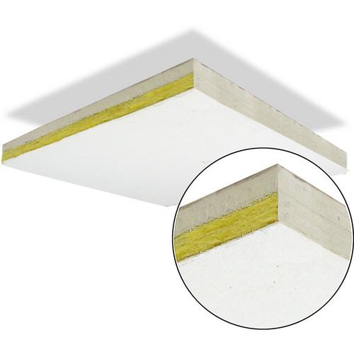 Primacoustic ThunderTile - Gypsum Enforced Acoustic Ceiling Tile with Trim  Edge - 2 x 4' (60.96 x 121.92cm)