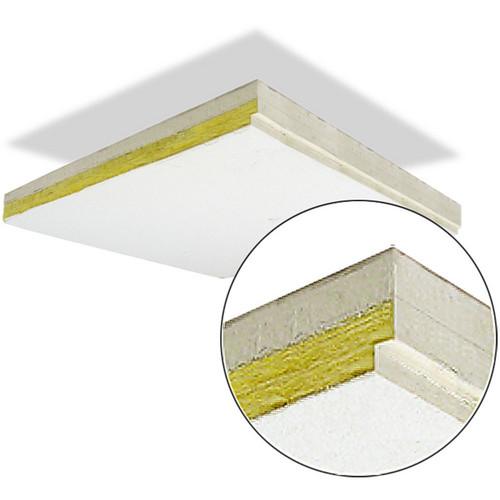 Primacoustic ThunderTile - Gypsum Enforced Acoustic Ceiling Tile with Reveal Edge - 2 x 2' (60.96 x 60.96cm)