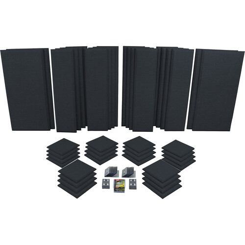 Primacoustic Broadway London 16 Room Kit (Black)