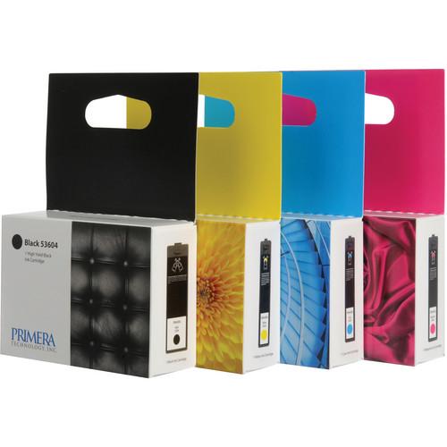 Primera 53606 Multi-Pack Ink Cartridges (Cyan, Magenta, Yellow, Black)