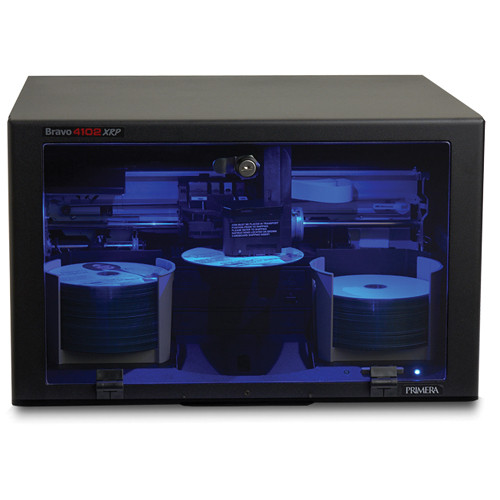 Primera Bravo 4102 XRP-Blu Disc Publisher W/ 2 Drives (Euro Plug)