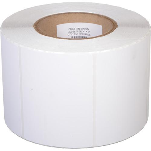 "Primera Matte Paper Labels (4 x 3"", 850 Labels)"