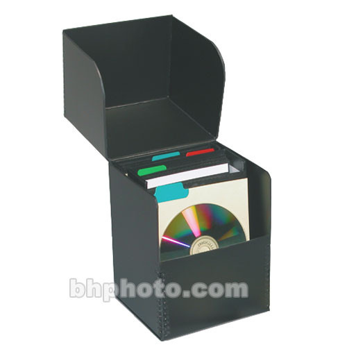 Print File CD-FLIPBOX Flip Top CD Storage Box
