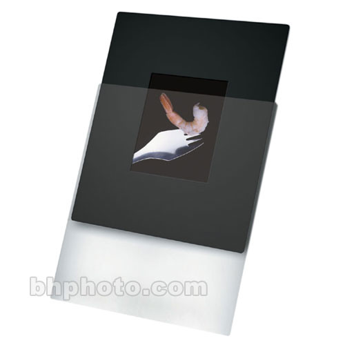 "Print File Overmat - 8 x 10"" - Holds One 4 x 5"" Transparency (Vert)-10 Pack"