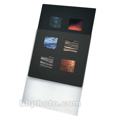 """Print File Overmat - 11 x 14"""" - Holds Six 6x7cm Transparencies - 10 Pack"""