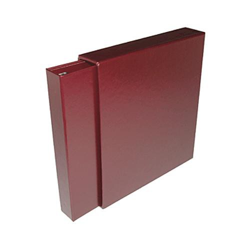 Print File 2800485 Leather Album and Slipcase (Burgundy)