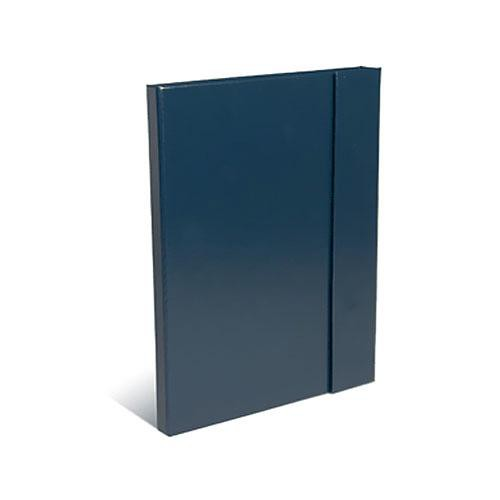 "Print File Leather Magna Folio (8.75x11.25"") (Blue)"