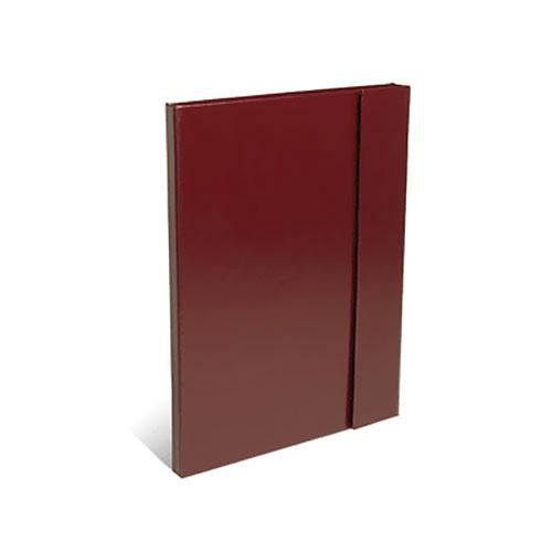 "Print File Leather Magna Folio (13.25 x 19.25"") (Burgundy)"