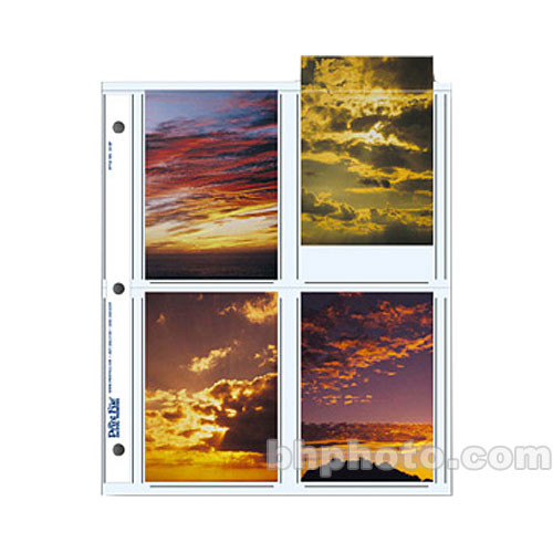 "Print File 35-8P Archival Storage Page for 8 Prints (3.5 x 5"", 500-Pack)"