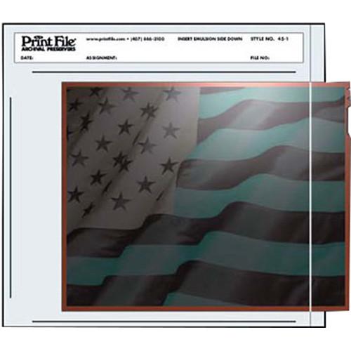 "Print File Negative Pocket (4 x 5"", 100 Pack)"