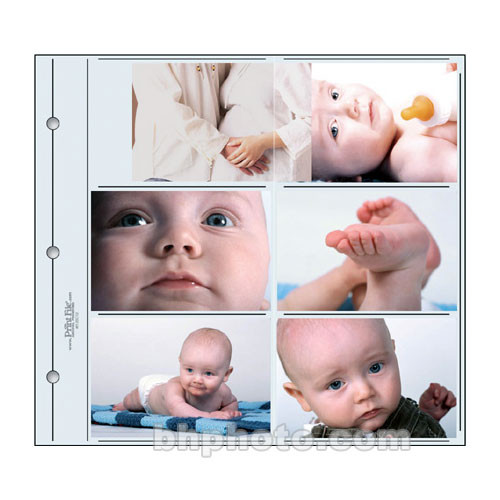"Print File 4612SC12 Oversized Photo Page (12 x 12"", 12-Pack)"
