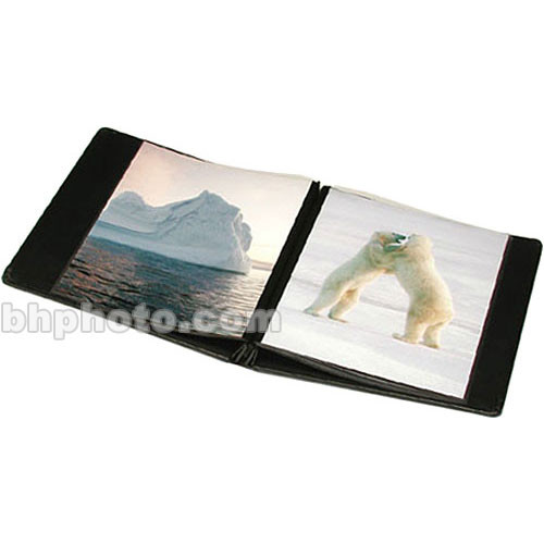 "Print File Presentation Album (8.5 x 11"", 10 Pages, Black)"
