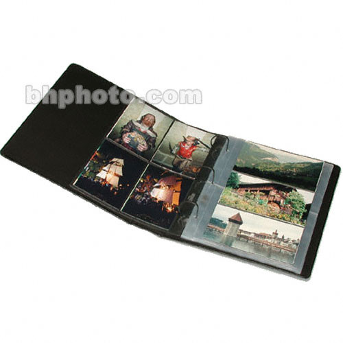 Print File Premium Series-G Oversized Archival Album for G-Series Pages - Black