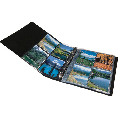 Print File Premium Series-G Archival Album for G-Series Pages (Black)