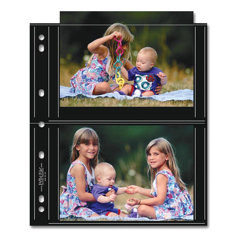 "Print File Premium Series-S Archival Storage Page for Prints, 5x7"" - 25 Pack"
