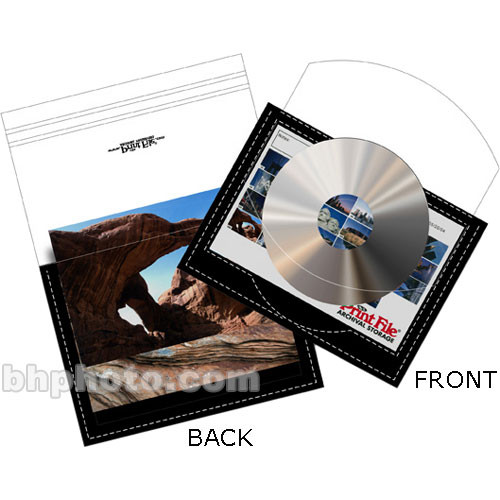 "Print File CD/DVD and 4x6"" Preserver (250)"