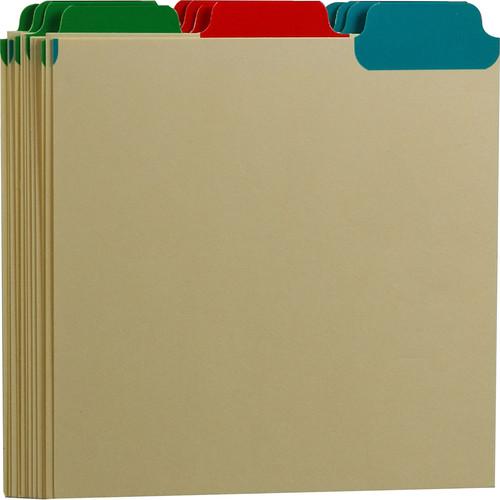 Print File CD Tabbed Dividers (Set of 12)