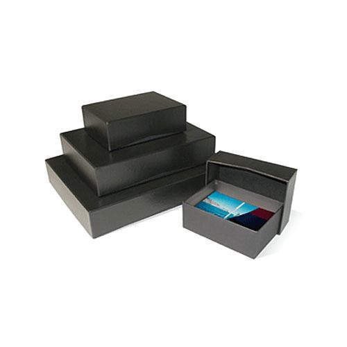"Print File 4x6"" 2-Piece Storage Box (Black)"