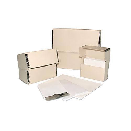 "Print File FLIPBOX45 FlipTop Storage Box (6 x 5 x 2.5"") (Tan)"