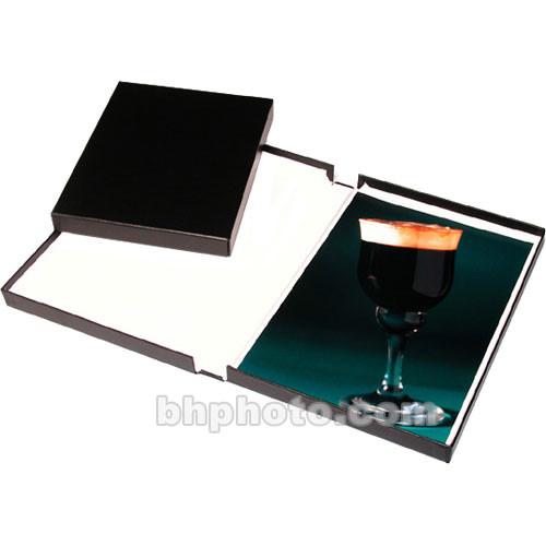 "Print File Black Clamshell Archival Portfolio Box - 13.25 x 19.25 x 1-3/8"""