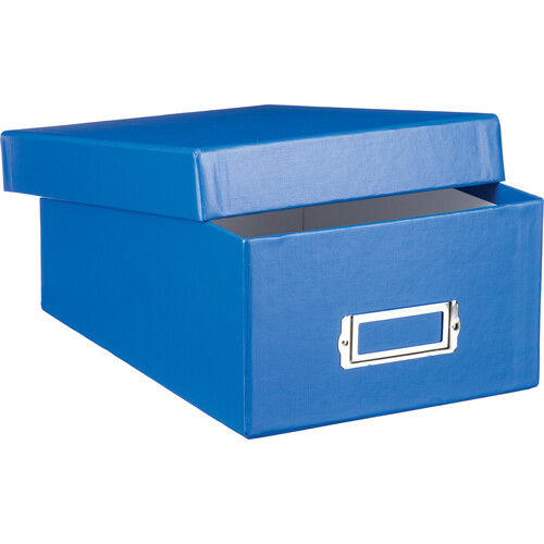 Print File Archival Photo Box (Blue)