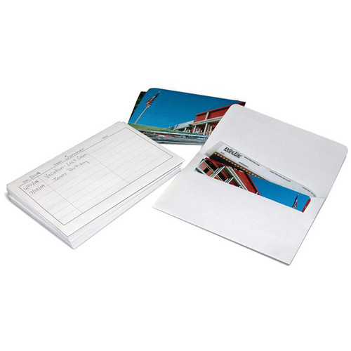 "Print File Storage Envelopes for 36 4x6"" Prints and Negatives - 25 Pack"