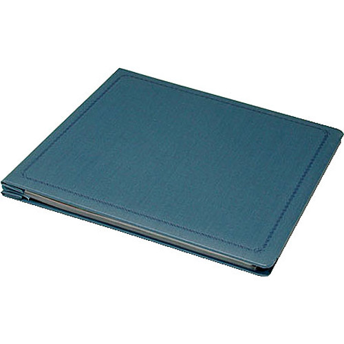 "Print File Archival Post Bound Scrapbook - 12 x 12"" - Blue Linen"