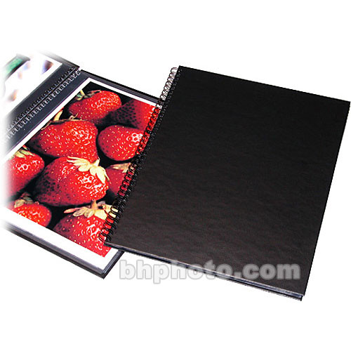 "Print File Wire Bound Album/Standard Size (Holds 24  8.5x11"" Prints)"