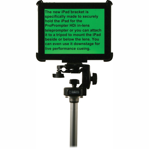 ProPrompter iPad Bracket