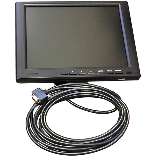 "ProPrompter PP-LCD10 10.4"" VGA/HDMI/DVI LCD Monitor with Mirror Function"
