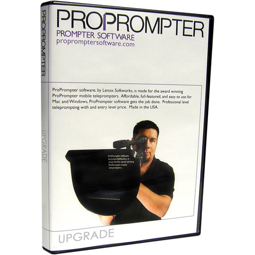 ProPrompter Upgrade: ProPrompter Teleprompter Software v4 Advanced to Professional