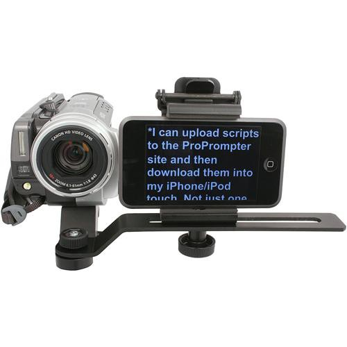 ProPrompter ProPrompter Wing with LCD Mount & Mobile Device Clip