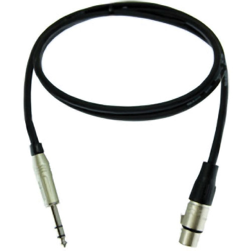 "Pro Co Sound Ameriquad Balanced 1/4"" Male to XLR Female Patch Cable - 20'"