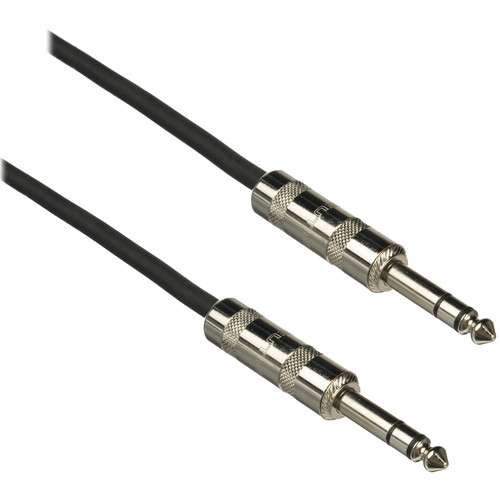 "Pro Co Sound Excellines 1/4"" TRS Male to 1/4"" TRS Male - 5'"