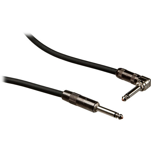 "Pro Co Sound ProPatch 1/4"" Angled Male to 1/4"" Male Instrument Cable - 15'"