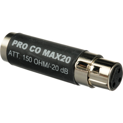 Pro Co Sound MAX20 In-Line Pad
