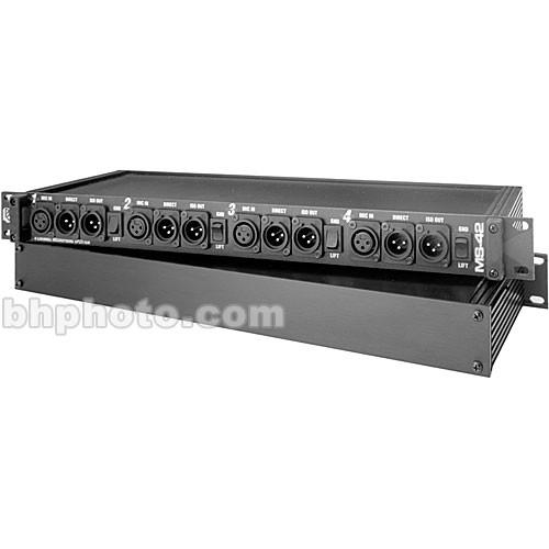 Pro Co Sound MS-42A - 4-Channel Microphone Splitter