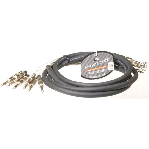 "Pro Co Sound MT8BQBQ-10 Analog Harness Cable 8x 1/4"" TRS Phone Male to 8x 1/4"" TRS Phone Male (10')"