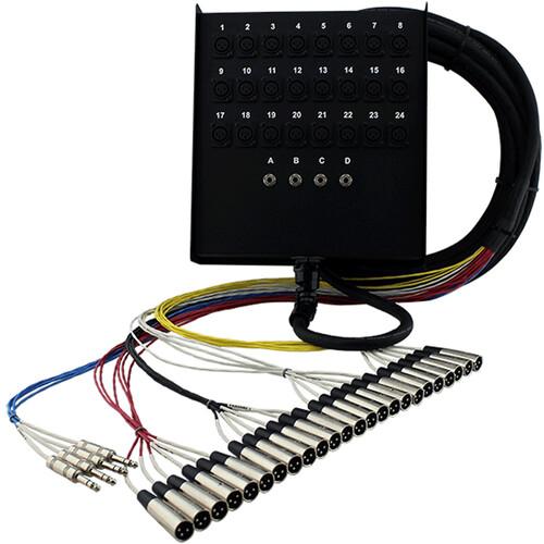Pro Co Sound SMC2404FBQ-50 StageMaster Snake 28 Channel Stagebox