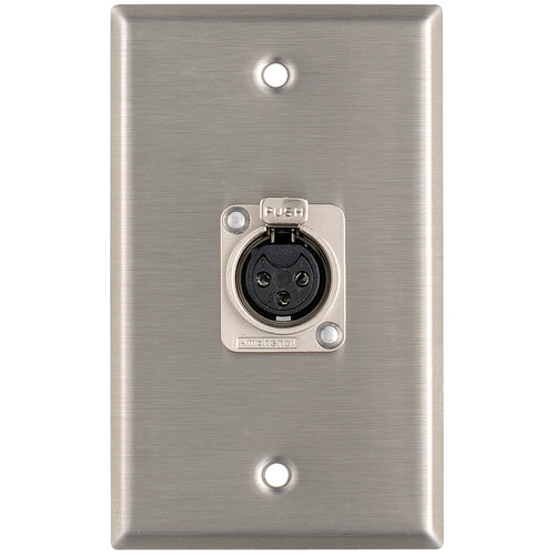 Pro Co Sound WP1004 3-Pin XLR Wallplate