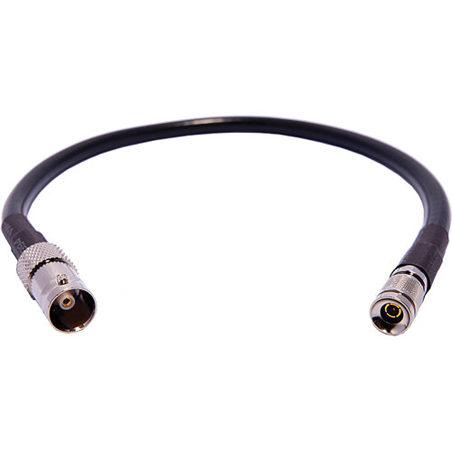 Pro Video Accessories BNC Female to DIN 1.0/2.3 RG-59 SDI Cable - 1'