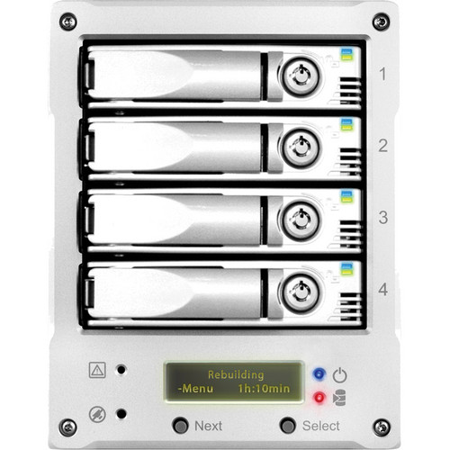 Proavio EditBox EB400FR 4-Bay Desktop eSATA Array with RAID-5 (8 TB)