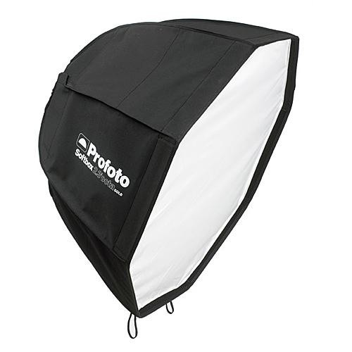 Profoto 505-714  Octa Softbox with Removable Recessed Front - 2.3' (71cm) Diameter, Gold