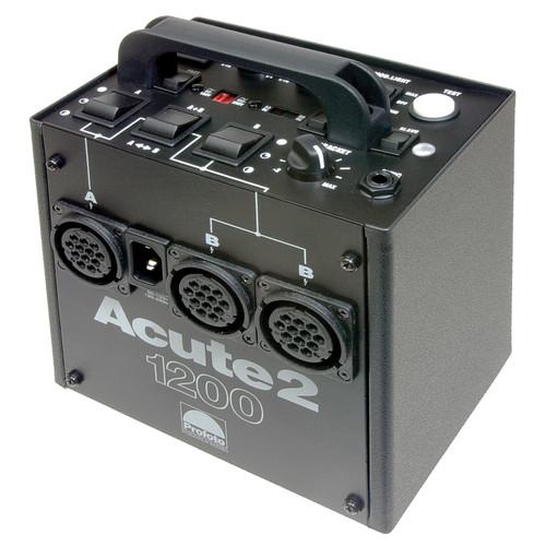Profoto Studio Lighting Kit: Profoto Acute 2 1200W/s 2 Head ProValue Pack (90-260V) 900695