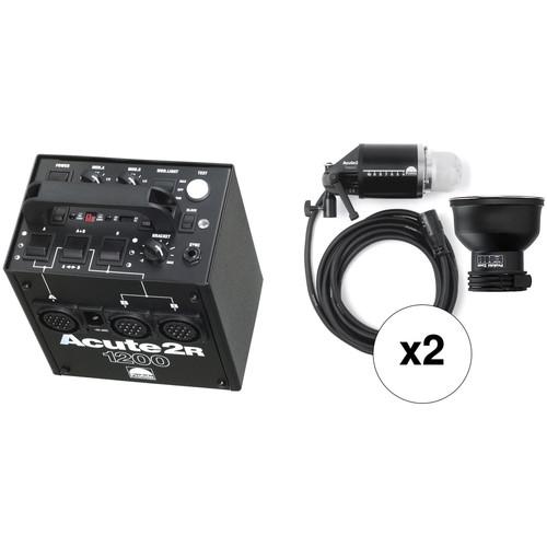 Profoto Acute 2R 1200W/s 2 Head Pro Value Pack (90-260V)