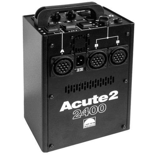 Profoto Acute 2 2400W/s 2 Head Pro Value Pack with Case (90-260V)