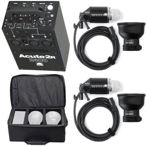 Profoto Acute 2R 2400W/s 2 Head Pro Value Pack with Case (90-260V)