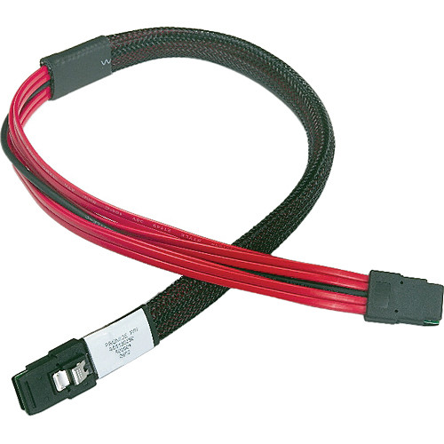 Promise Technology Mini-SAS to Mini-SAS Cable with Sideband Signals (0.5 m)