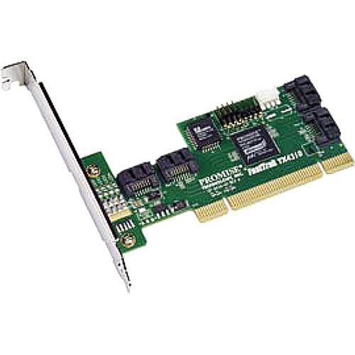 Promise Technology FastTrak TX4310 4 Port SATA 3G RAID PCI Controller (Pack of 5)